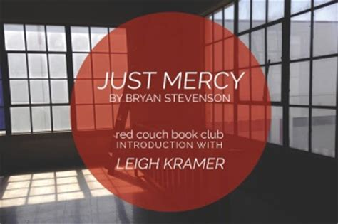 the red couch book you must read this one quot just mercy quot