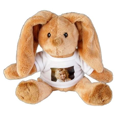 personalised bunny rabbit soft toy find me a gift