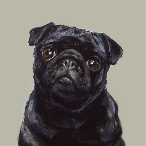black pug painting 25 best ideas about black pug on black pug puppies baby black pug and