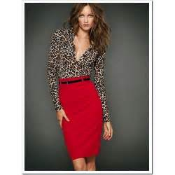 what color goes with leopard print pencil skirt and crop top dress pattern