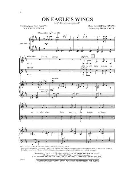 printable lyrics to on eagles wings lyrics to on eagles wings hymn best image konpax 2017