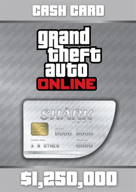 Gta 5 Gift Cards - купить grand theft auto online great white shark card
