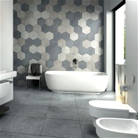 bathroom tile feature ideas best 25 hexagon tile bathroom ideas on