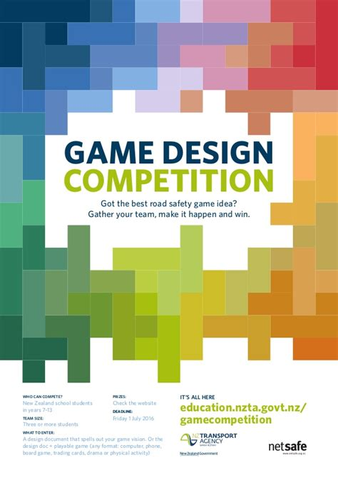 design a competition poster game design competition poster 1