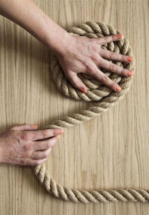 tappeti fai da te un elegante tappeto di corda fai da te ispirando