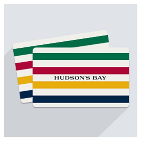 Rbc Gift Cards - reward yourself and earn rbc rewards points with hudson s bay