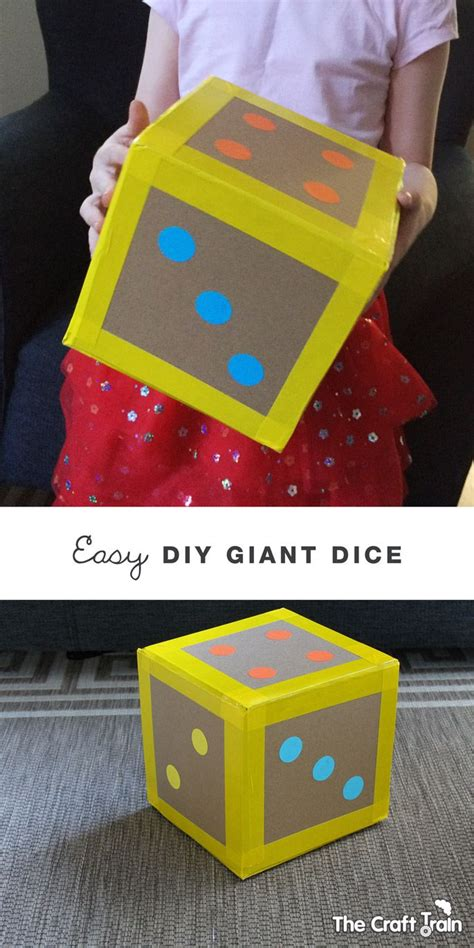 dice pattern activities easy diy giant dice math learning and activities
