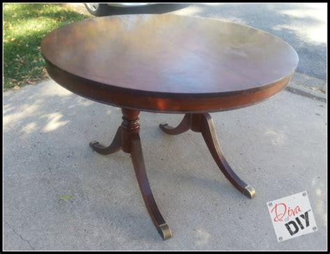 Restain Dining Table Dining Room Table Makeover Of Diy
