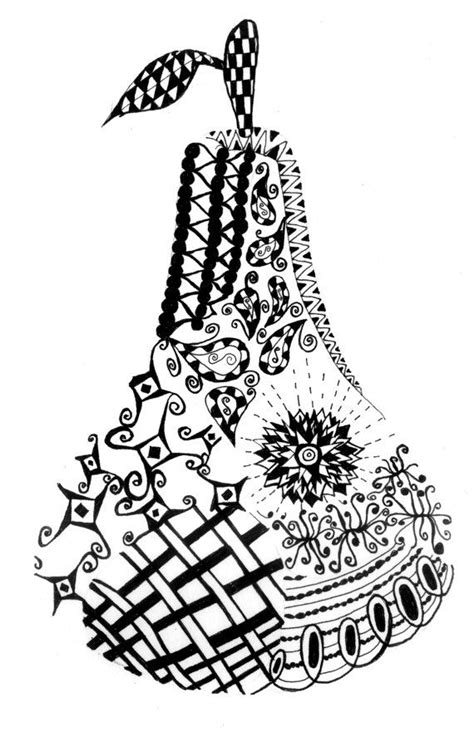 fruit zentangle 42 best zentangle fruit images on