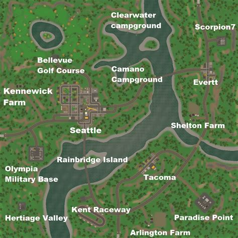 seattle map unturned steam community guide everything about unturned