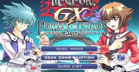 game yugioh pc mod yugioh gx power of chaos jesse mod pc game download
