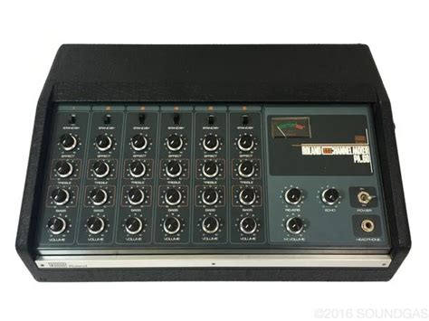 Mixer 6 Chanel Murah roland pa 60 6 channel mixer with reverb for sale soundgas vintage effects guitar