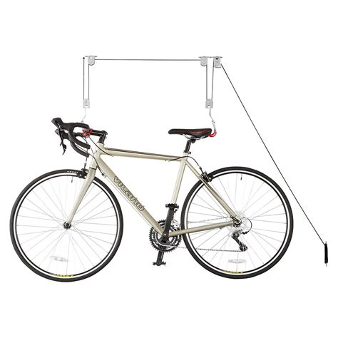 Ceiling Mounted Bike Lift by Ceiling Mount Bike Lift The Container Store