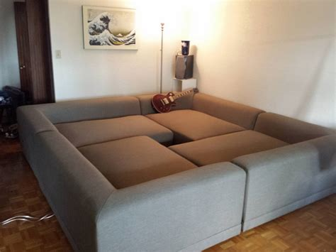 how to make a pit couch square couch design ideas for the ultimate comfort and relax