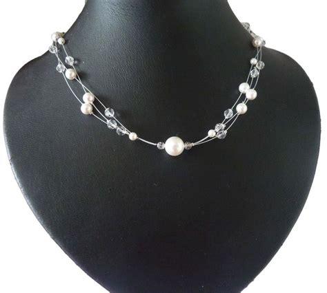 Perlenkette Hochzeit by Brautschmuck Mit Perlen Ornara 174 Perlencollier