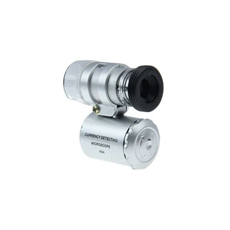 uv l iphone microscope pour iphone 5 zoom 60x led uv