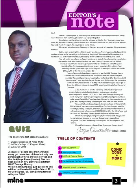 mine magazine editor s note page 3