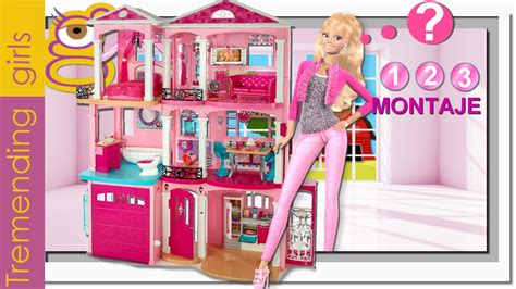 barbie dream house 2015 c 243 mo montar la nueva barbie dreamhouse 2015 casa sue 241 os barbie juguetes barbie en
