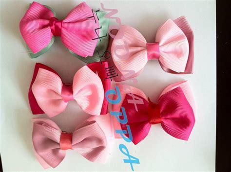 Jepit Rambut Pita 2 Warna jual jepit rambut pita pink 29 aksesoris korea