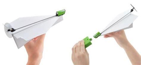 aeromodelli di carta volanti powerup l aeroplano di carta elettrico hobbymedia