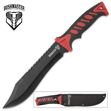bushmaster knives bushmaster survival bowie knife with sheath