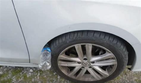ladari di plastica e con una bottiglia di plastica vi rubano l auto new
