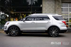 ford explorer custom wheels lexani gravity 22x et tire