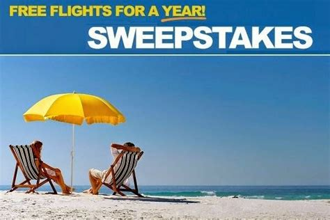 Allegiant Air Sweepstakes - win free flights for a year with allegiant air sweepstakesbible
