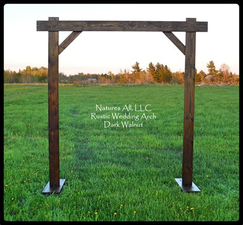 Wedding Arbor Rustic by Wedding Arch Wedding Arbor Rustic Wedding Arch Complete