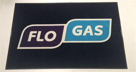 new logo mat for flo gas logomats