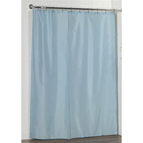 Weighted Shower Curtain by Carnation Home Fashions Fabric Shower Curtain Liner With