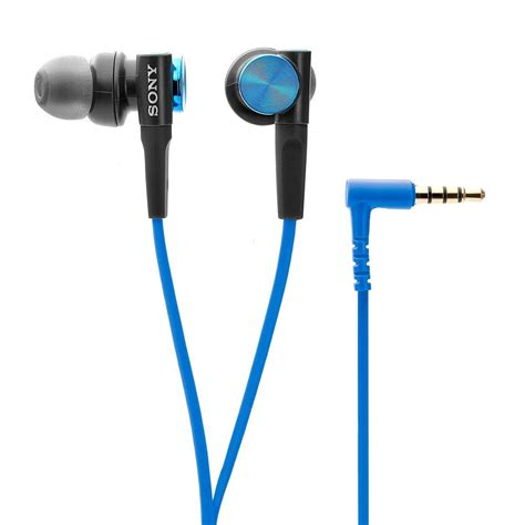 Headset Sony Mdr D9 new sony mdrxb50ap bass earbud headset mdr xb50ap blue wired 18 ebay