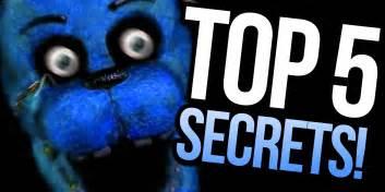 Top 5 hidden secrets five nights at freddy s parody youtube