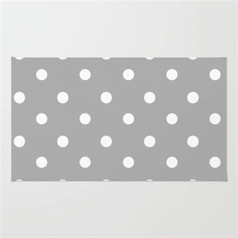 polka dot rug gray and white polka dot floor rug room rug throw rug