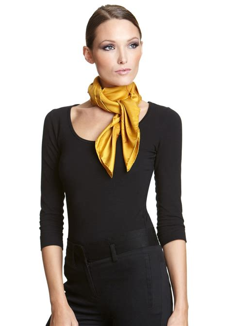 Knotted and Twisted Style Silky Scarf?s Collection