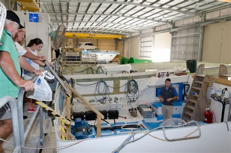 largest boat builder in the world take a full factory tour of the largest boat building