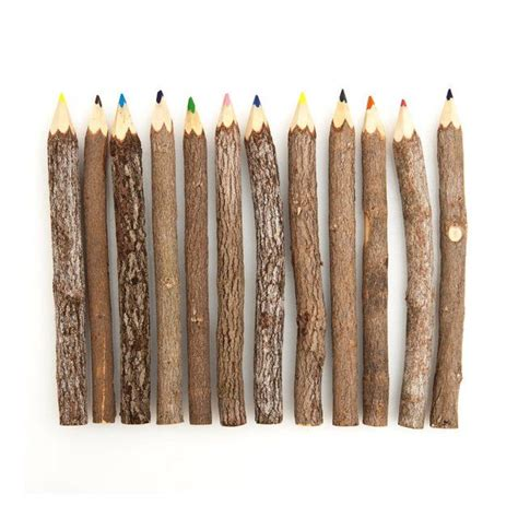 fancy colored pencils fancy reclaimed branch colored pencils products i