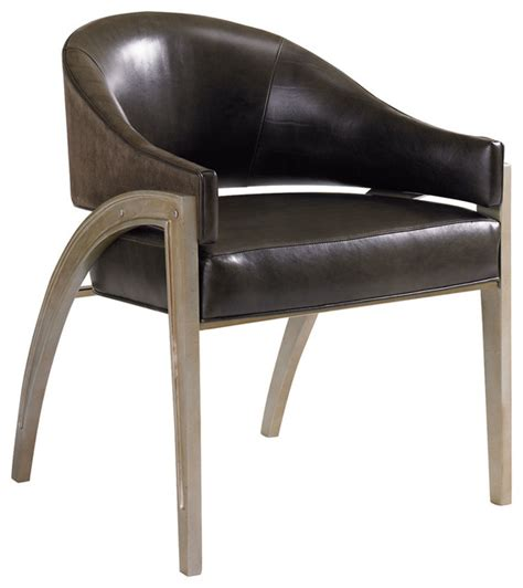 metal accent chair caracole metal leather chair ats chair 04b transitional armchairs and accent chairs by