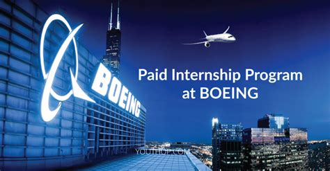 paid internship program  boeing youth opportunities