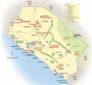 california toll roads map map of the 73 133 241 and 261 toll roads in orange