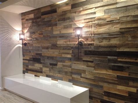 recycled pallet and reclaimed wood paneling rustic wall panels other metro by