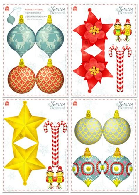 printable paper ornaments pin by sandra meinlilapark on free printables and more