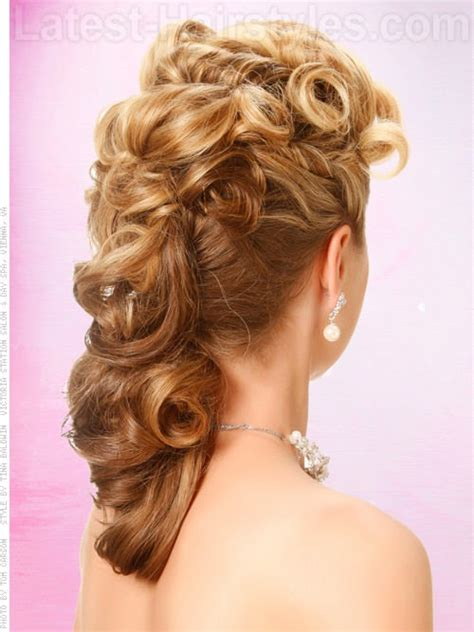 southern hair style prom hairstyles pulled to the side