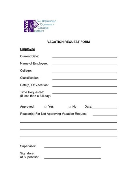 request for template microsoft word employee time request from template excel template