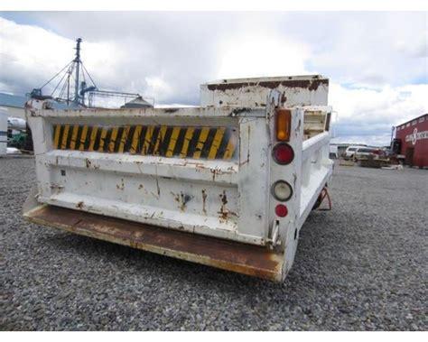 10 Box Truck For Sale - williamsen 10 dump box truck bed for sale spokane wa