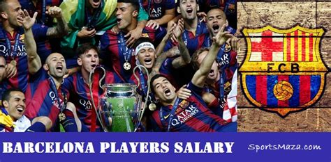 barcelona players salary fc barcelona all player salaries 2018 contract details