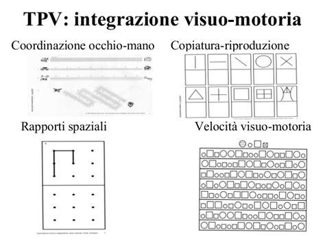 test percezione visiva abilit 227 visuo spaziali