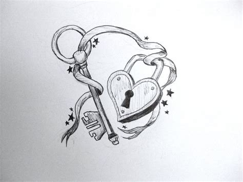 key to my heart tattoo designs key to my tattoos pencil on paper illustration in