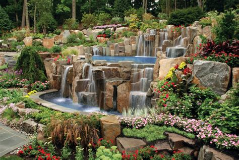 landscaping ideas for a hill in backyard backyard landscaping inspiring design ideas for a hill