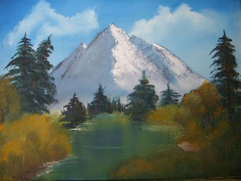 bob ross painting style bob ross style painting by keitarosan86 on deviantart